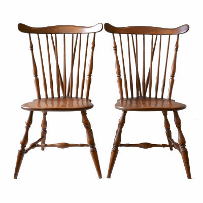 Beau Vintage Heywood Wakefield Winthrop Chairs: A Pair