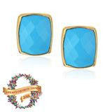 Addison Weeks Whitten Studs - Blue Turquoise