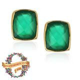 Addison Weeks Whitten Studs - Emerald