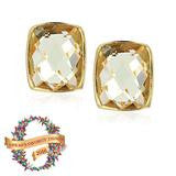 Addison Weeks Whitten Studs - Lemon Topaz