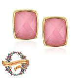 Addison Weeks Whitten Studs - Pink Quartz