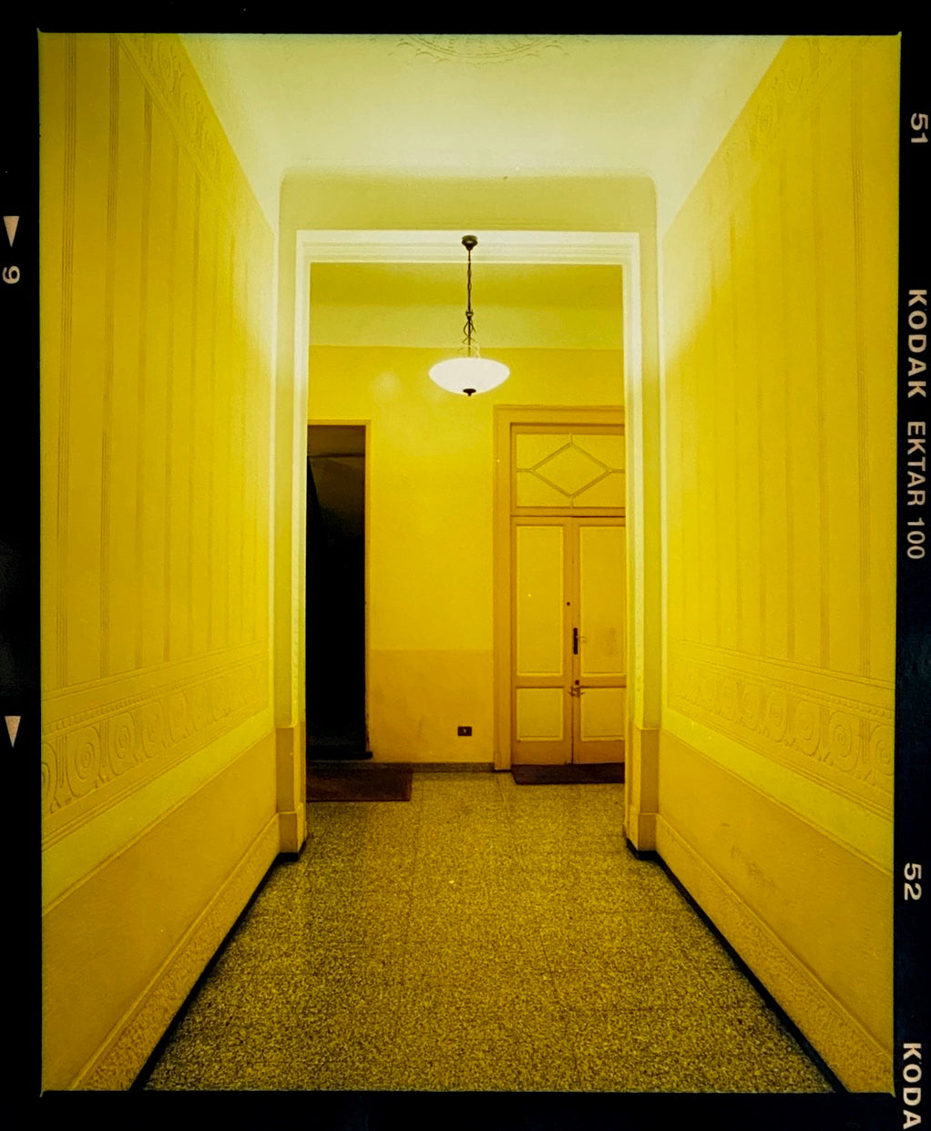 Yellow Corridor, Milan 2019