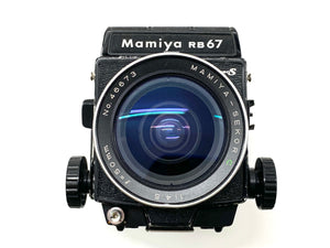 Mamiya RB67 vintage film camera owned by photographer Richard Heeps.