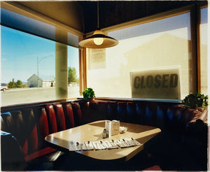 American Diner, cinematic interior photography by Richard Heeps