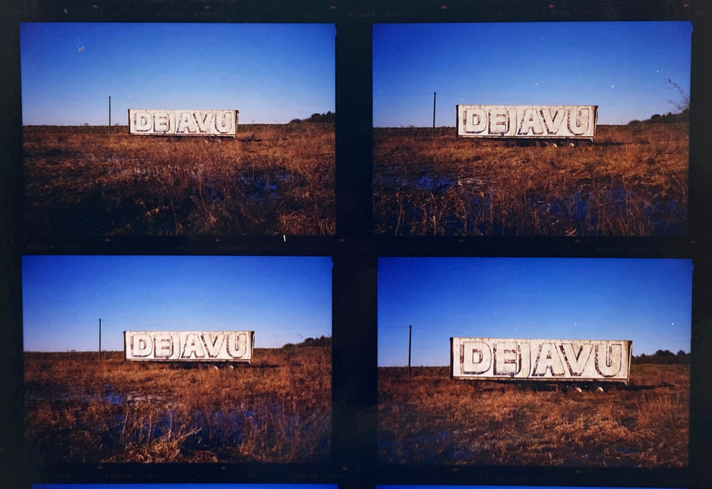 Contact sheets of negative photographs