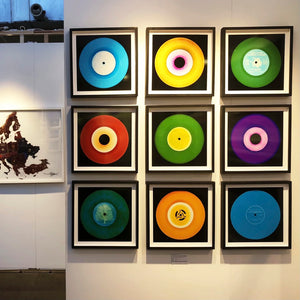 Vinyl Collection 'Heart Break', 2016. Acclaimed contemporary photographers, Richard Heeps and Natasha Heidler have collaborated to make this beautifully mesmerising collection. A celebration of the vinyl record and analogue technology, which reflects the artists practice within photography.