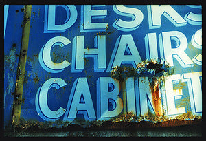 Desk, Chairs, Cabinets, Fen Road, Cambridge 1993