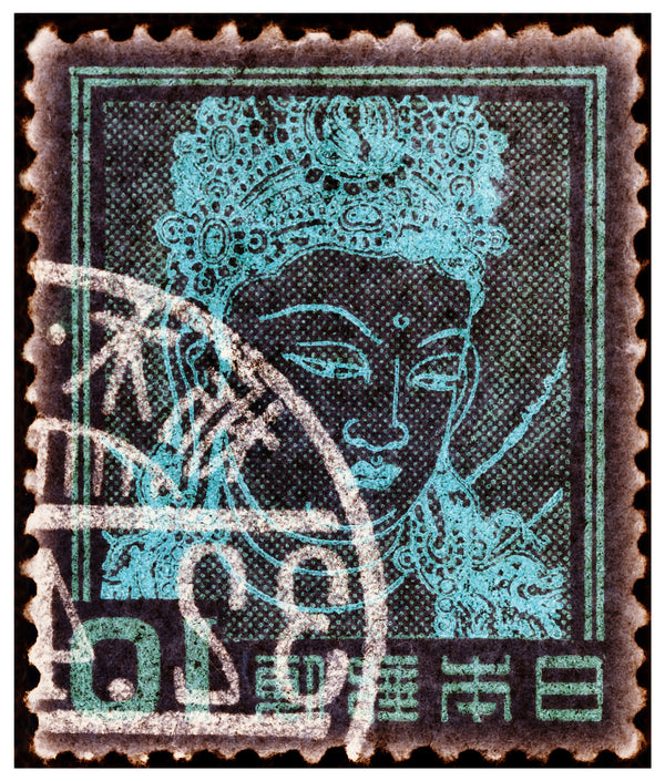 Japanese Stamp Collection 'Goddess Kannon', 2016