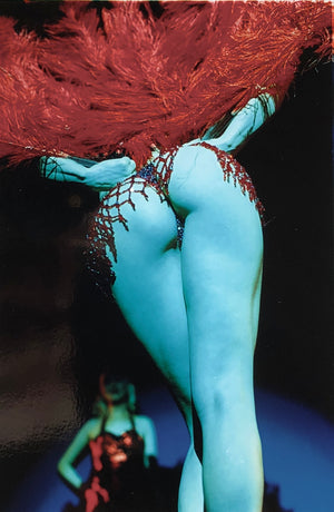 Burlesque photography by Richard Heeps taken in Hollywood, California.