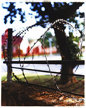 Barbed Wire Fence, Johannesburg, 2009