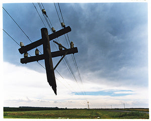 Broken Telegraph Pole, Bothaville, 2009