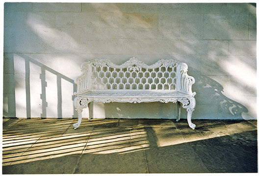Iron Bench, Cambridge American Cemetery, 1993