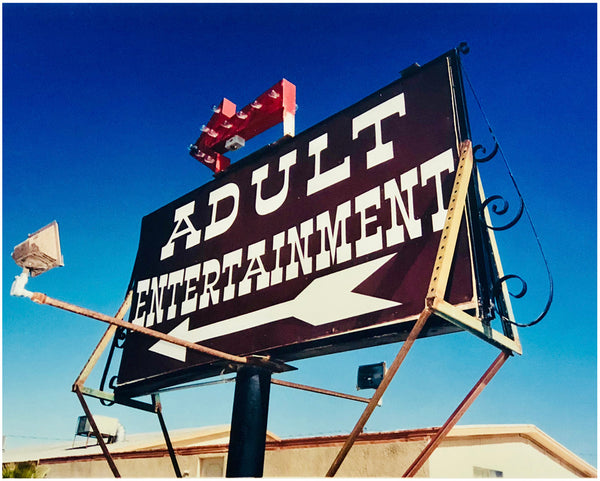 Adult Entertainment, Beatty, Nevada, 2001