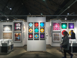 "Nine Piece Vinyl ""Amsterdam"" Installation"