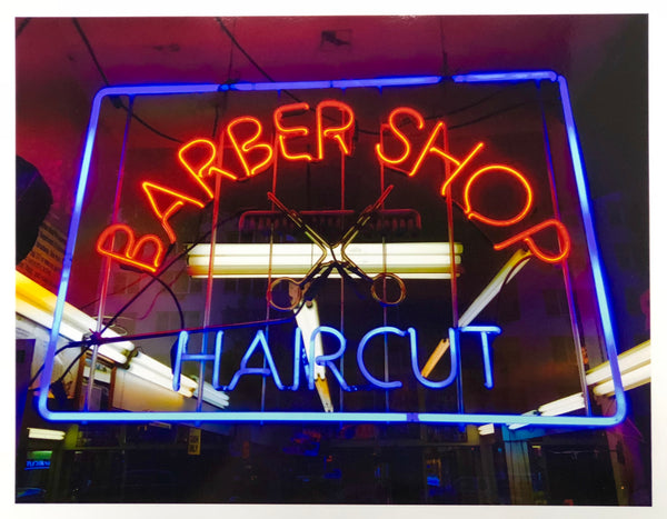 Barber Shop, New York, 2017