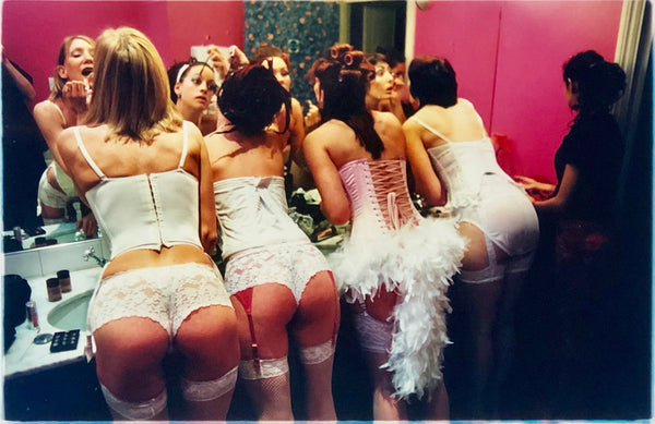 Belles of Shoreditch, 'The Whoopee Club' London. Richard Heeps became well-known for his Burlesque Photography after he spent 2003 capturing performances in Britain & America.