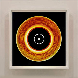 Vinyl Collection 'Black Label' (Fire), 2016. Acclaimed contemporary photographers, Richard Heeps and Natasha Heidler have collaborated to make this beautifully mesmerising collection. A celebration of the vinyl record and analogue technology, which reflects the artists practice within photography.