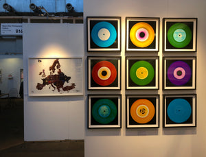 Nine Piece Vinyl Installation (no.3)