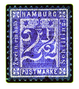 Hamburg Two & a Half Shilling (Purple), 2016
