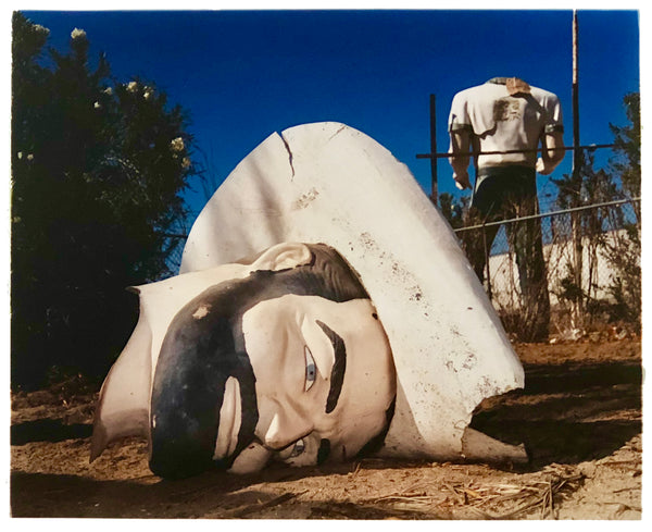 Poor Richard Head & Torso, Salton Sea, California, 2003