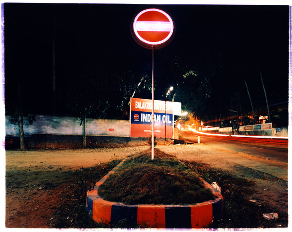 Indian Oil (Night), Kerala, 2013