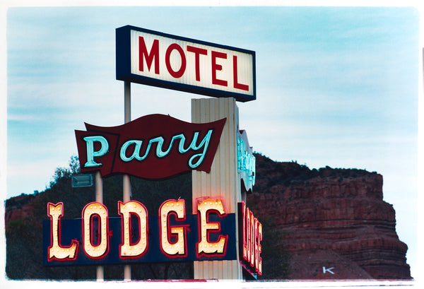 Parry Lodge, Kanab, Utah, 2001