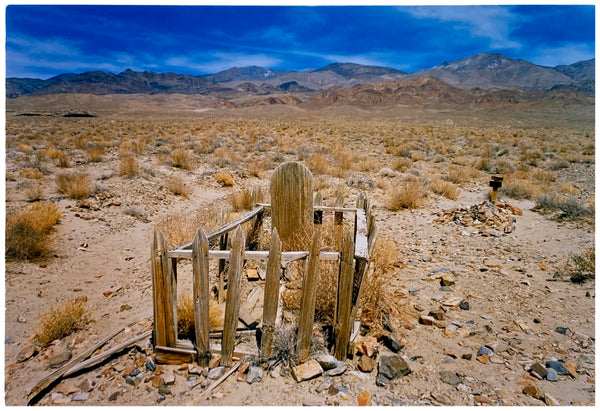 Pioneer's Grave I, Keeler, Inyo County, California, 2001