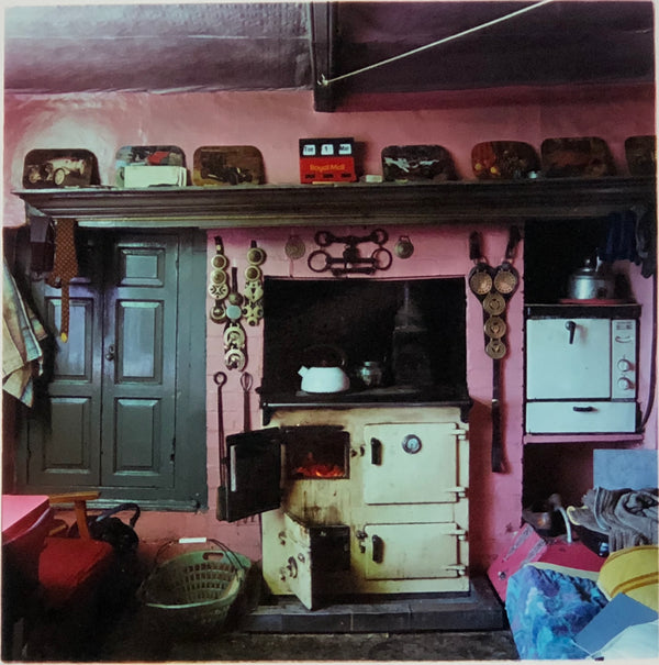 Vintage kitchen interior photography from Richard Heeps Ordinary Places series.