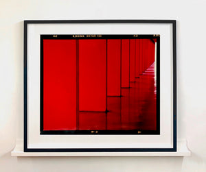 From Richard Heeps photography series 'A Short History of Milan'. Red Dinosaur III captures Italian design and architecture.