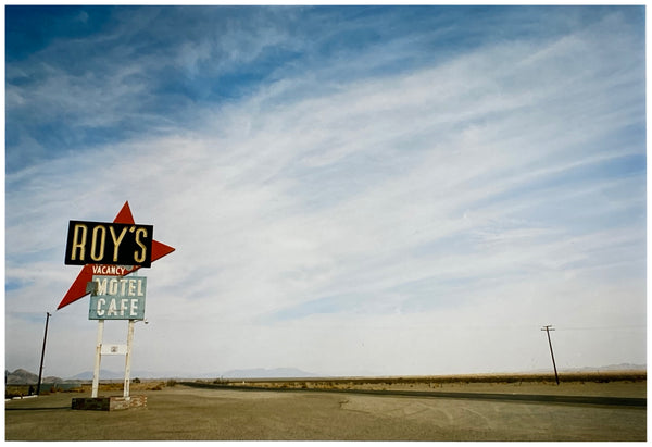 Roy's - Route 66, Amboy, California 2001