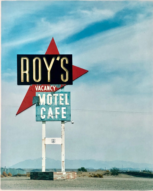 Roy's Motel Sign, Amboy, California, 2002