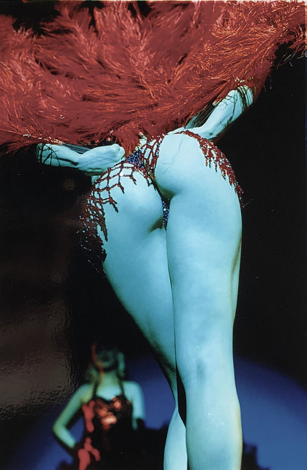 Tease-O-Rama was taken in 2003 when Richard Heeps became well-known for his Burlesque Photography after he spent the year capturing performances in Britain & America.