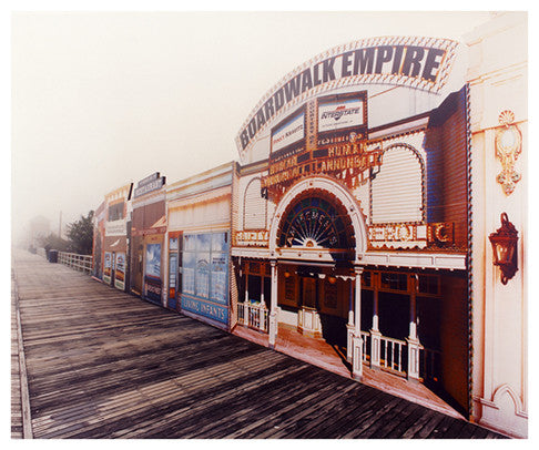 Boardwalk Empire in the Mist, Atlantic City, NJ, 2013