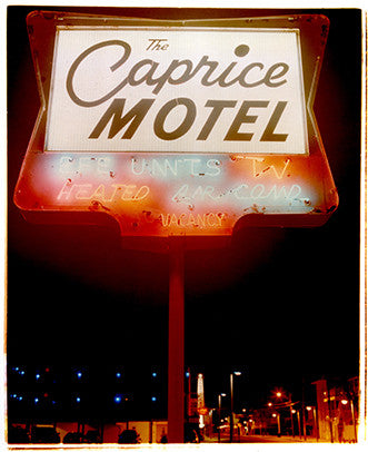 Caprice Motel Portrait, Wildwoods, NJ, 2013