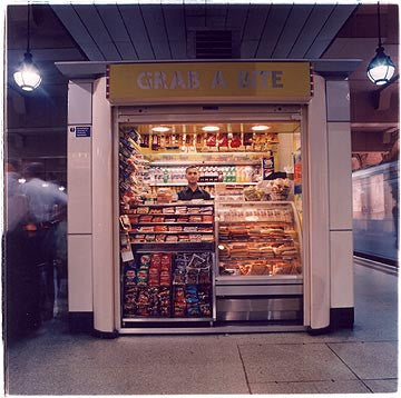 Grab a Bite -Underground Station, Gloucester Road, London 2004