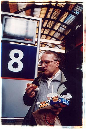 Ray the Poet - Platform 8, King's Cross, London 2004