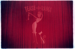 Curtain - 'Tease-o-Rama', 'Tease-o-Rama', Hollywood 2003