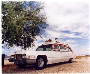 Cadillac Ambulance, Inyokern Dragstrip, California 2003