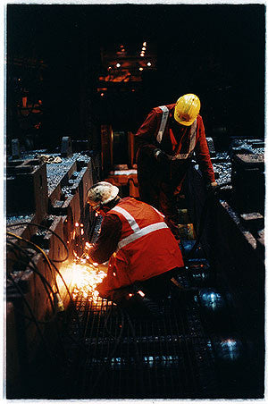 Working - Manipulator Gearbox I, Bloom&Billet Mill, Scunthorpe 2007