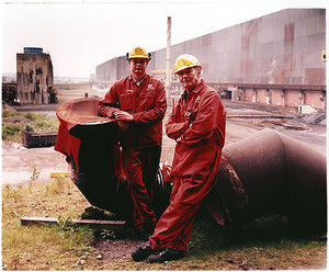 Les and John, Bloom&Billet Mill, Scunthorpe 2007