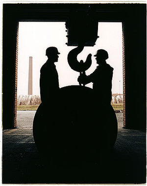 Mick Horton & Paul Rowson, Bloom&Billet Mill, Scunthorpe 2007