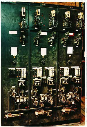 Electrical Contactor Panel, Bloom&Billet Mill, Scunthorpe 2007