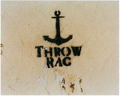 North Shore Yacht Club Pool - Throw Rag, Salton Sea, California 2003