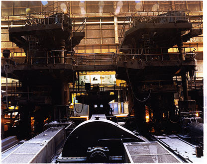 A perfect view of the process, Bloom&Billet Mill, Scunthorpe 2007