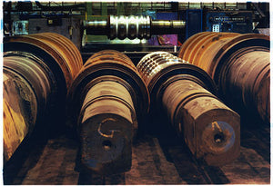 Used Rolls, Bloom&Billet Mill, Scunthorpe 2007
