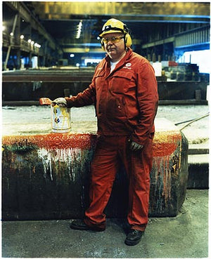 Dave Carswell, Bloom&Billet Mill, Scunthorpe 2007