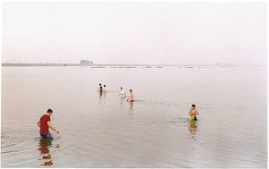 Kids in water, Sutton Gault 1993