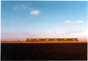 0°00' longitude, 52°33N' Railway Line, West Fen, Cambridgeshire 2001
