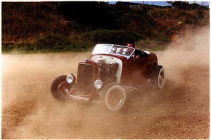 Jim in the dust, Norfolk 2003