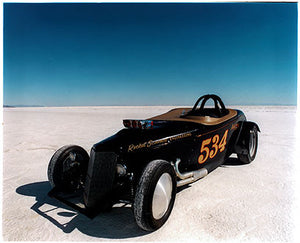 Ronald Joliffe's '34 Roadster 'Rocket Science', Bonneville, Utah 2003